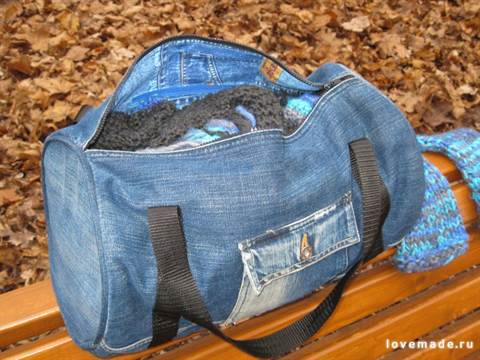 Спортивная сумка своими руками