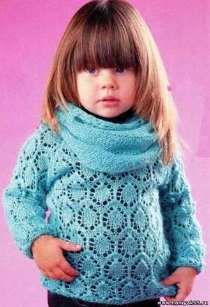 Схема вязания спицами для детей 1 2 года