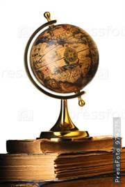 выкройка глобуса