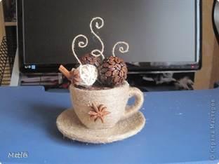 Сделать своими руками чашку с кофе