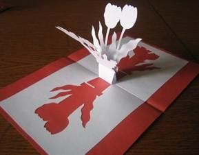 Киригами из бумаги схемы для начинающих