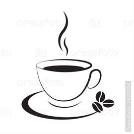 Фото черная чашка с кофе своими руками