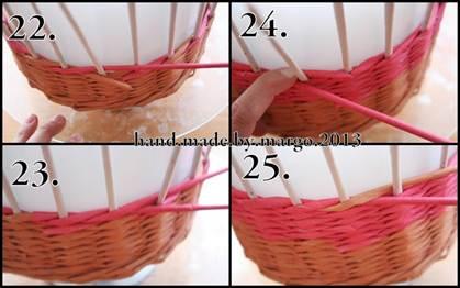 Плетение из лозы своими руками видео фото 989