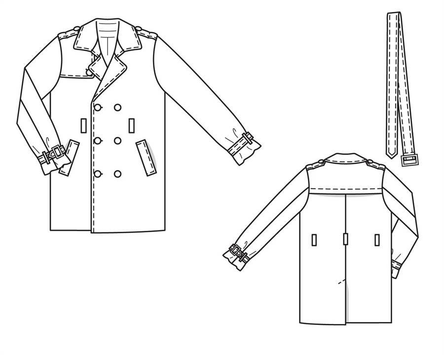 Пальто мужское модели выкройки
