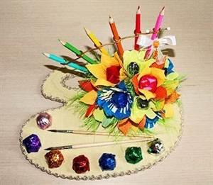 Букет из конфет ко дню рождения своими руками фото 974