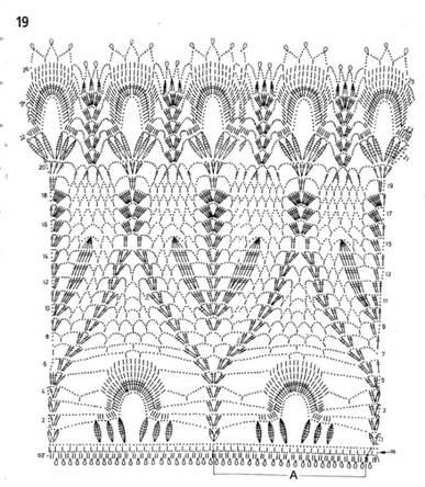 схемы вязания широкого длинного женского свитера спицами