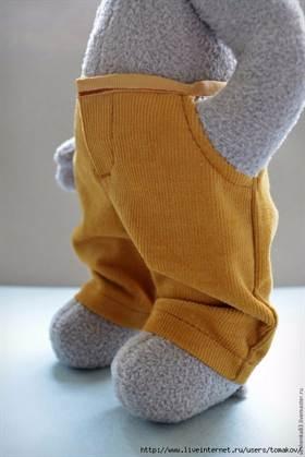 Одежда на мишек тедди своими руками