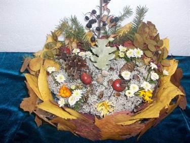 Поделка смешарики из овощей и фруктов 38