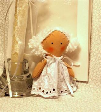 Ангел своими руками сделать из ткани