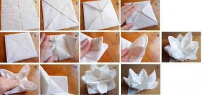Как сделать лебедя из салфетки своими руками 7