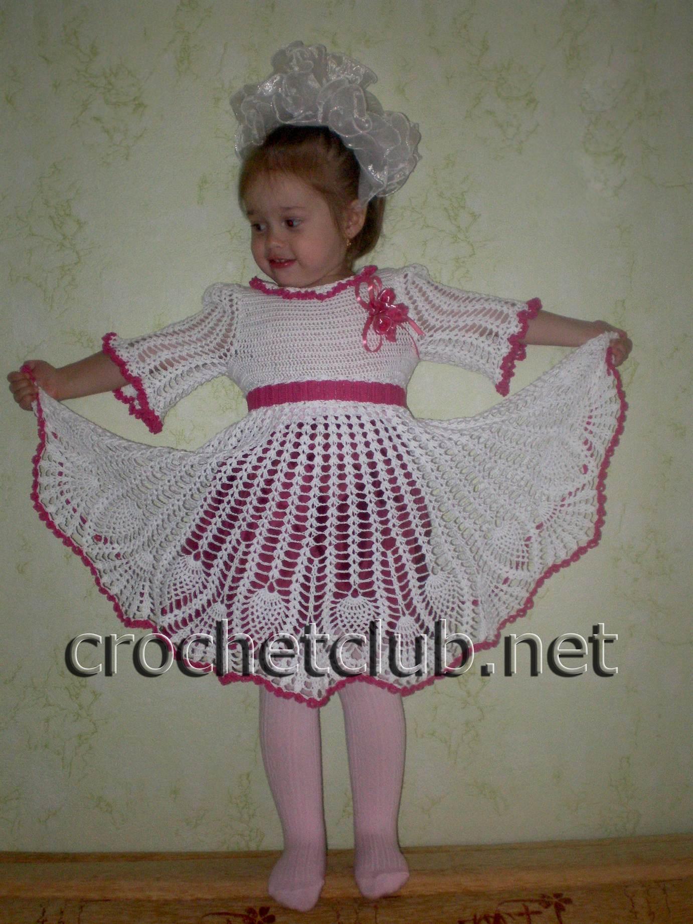 схема вязания летних юбочек для девочек
