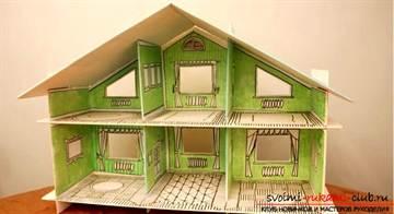 Дом кукол барби своими руками видео фото 355