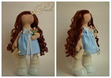 Как сделать куклу из фетра своими руками фото 695