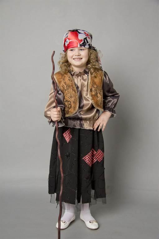 Как сделать костюм Бабы Яги своими руками - ФОТО 22
