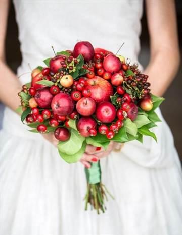 Как делать букеты из фруктов и овощей 60