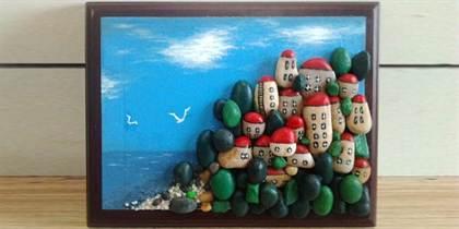 Поделка из камней и песка 767