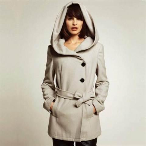 пальто с капюшоном выкройки