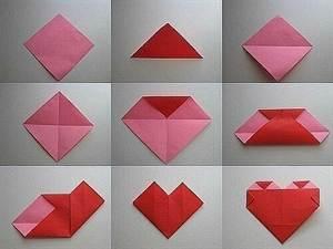 Как сделать сердце из бумаги картинки