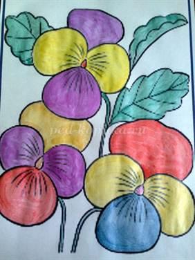 Схемы плетения бисером, цветы и деревья из бисера, игрушки 18