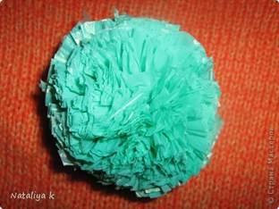 Как из пакета сделать шарик