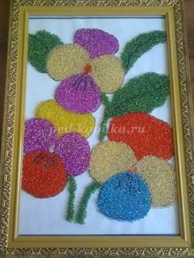 Схемы плетения бисером, цветы и деревья из бисера, игрушки 3