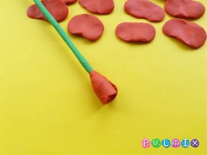 Как сделать розу из пластилина своими руками поэтапно с фото и видео