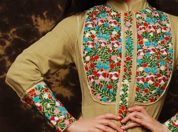 Цветы на одежде своими руками