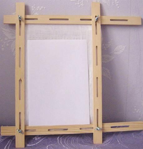 Как сделать рамку для батика своими руками