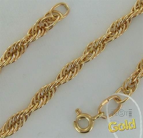 Плетение браслетов по цепочке
