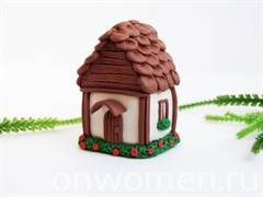 Поделки домик из пластилина своими руками 16