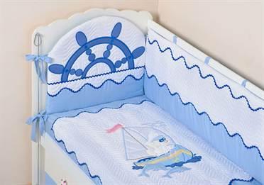 Как сшить бортики вскую кроватку своими руками