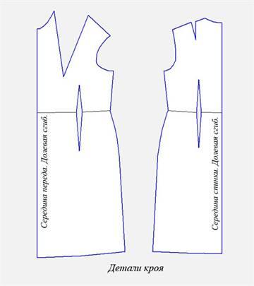 Выкройки платьев для полных женщин на осень скачать бесплатно