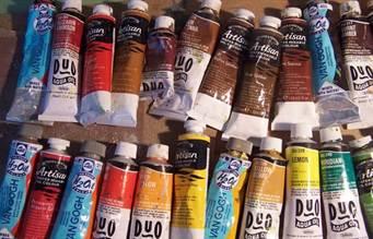 Что необходимо для рисования маслом