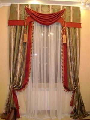 Шитье штор и ламбрекенов своими руками