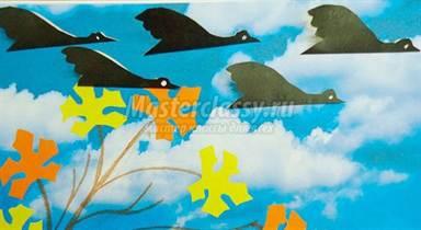 Поделка перелетные птицы 23