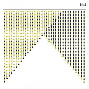 Схемы шторы из бусин своими руками 91