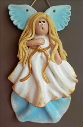 Ангел из соленого теста своими руками
