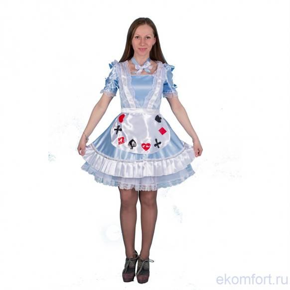 Как сшить костюм алисы в стране чудес своими руками 1