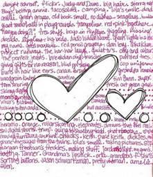 Что можно написать и нарисовать в личном дневнике картинки