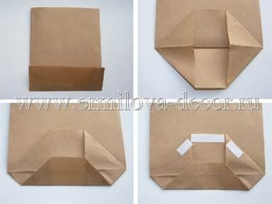 Как сделать бумажные пакетики 99