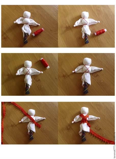 Делаем своими руками кукол 30