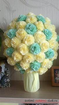 Поделка цветы своими руками из салфеток