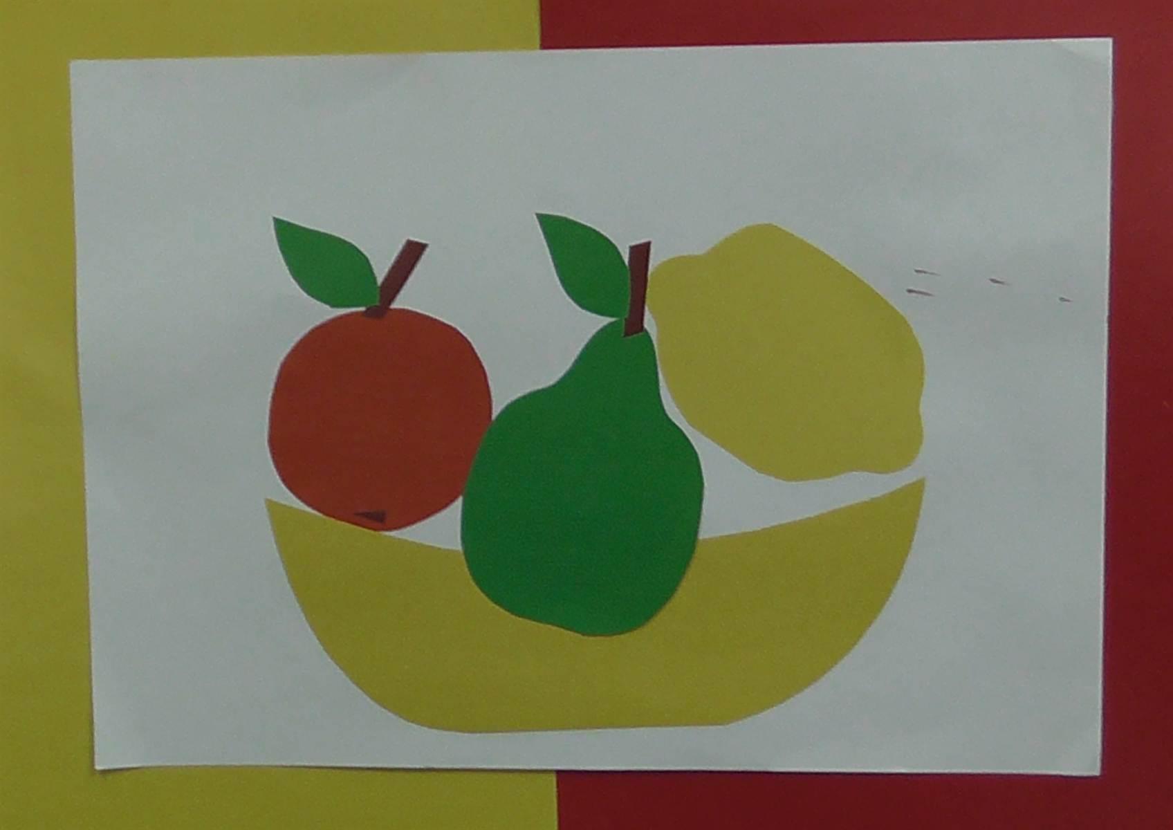 Детские поделки на тему овощи-фрукты