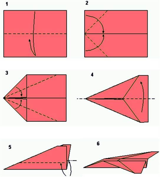 Как сделать самалоты из бумаги который летает 100 метров