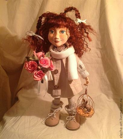 Как сделать куклу из полимерной глины в домашних условиях