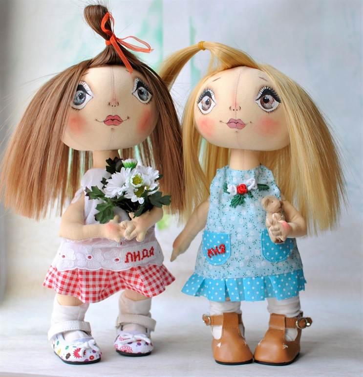 Обучение изготовлению кукол своими руками