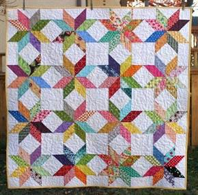half-square-triangle-pattern-multicolored-star