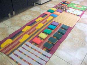 Детский коврик для ног фото своими руками