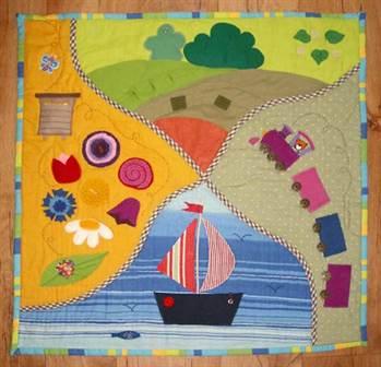 Развивающий коврик для детей своими руками выкройки