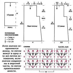 seryj-azhurnyj-kardigan-shema